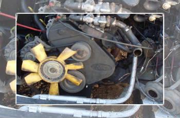 Вся система охолождения форд транзита фото 395-326