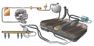 Схема топливной системы на ВАЗ2112 инжектор 16 клапанов фото